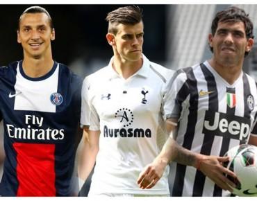 Zlatan, Bale y Tevez, entre las ausencias del Mundial