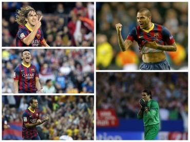 Más de 10 jugadores no seguirían en Barcelona