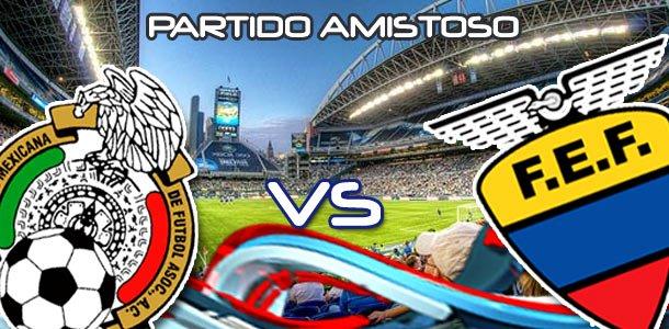 México y Ecuador a definir escuadras mañana en amistoso