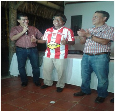 """Ramón """"Primitivo"""" Maradiaga ya se puso la camisa del Vida"""