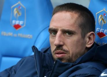 Franck Ribery causa baja del equipo de Francia que disputará el Mundial