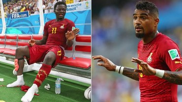 """Muntari y Boateng fueron expulsados """"por indisciplina"""" de Ghana"""