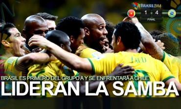 Brasil goleó a Camerún e hizo válidos los pronósticos