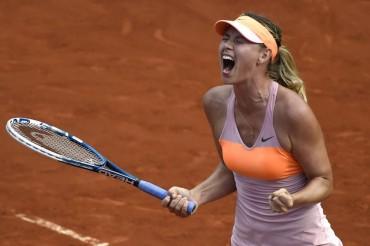 Sharapova celebra su segundo Roland Garros con 27 años