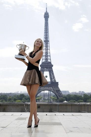 Sharapova sube en el ránking WTA