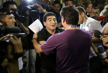 """Maradona: """"Fue el peor partido de Iker, doy la razón a Mourinho"""""""