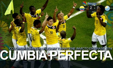 Colombia fue mucho más que la 'garra charrúa'