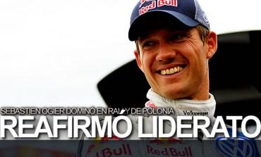 Ogier ganó Rally de Polonia y es líder