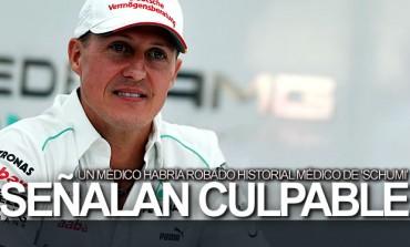 Personal médico habría robado historial de Schumacher