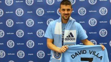 David Villa oficialmente presentado en el New York City FC
