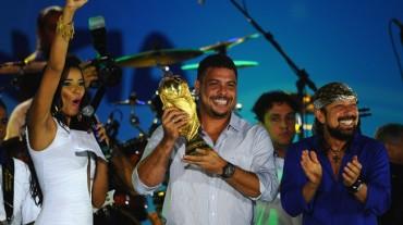 Ronaldo inaugura la FIFA Fan Fest