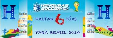 A 6 días del Mundial