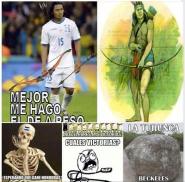 Los memes por la eliminación de Honduras del Mundial Brasil