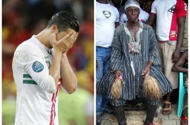 Cristiano Ronaldo, 'víctima' de un brujo ghanés