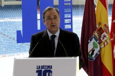 "Florentino Pérez: ""No vamos a fichar al Kun ni a Pogba"""