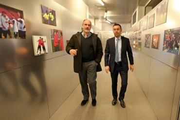 Reunión en el Barça por el futuro de Xavi