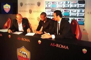 Keita firma con la Roma por una temporada