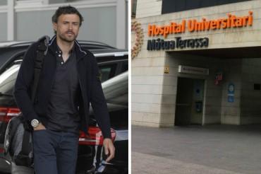 Luis Enrique ha sido operado de urgencia por una apendicitis aguda