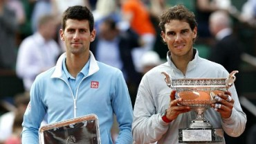 Djokovic, cabeza de serie número uno; Nadal, el dos
