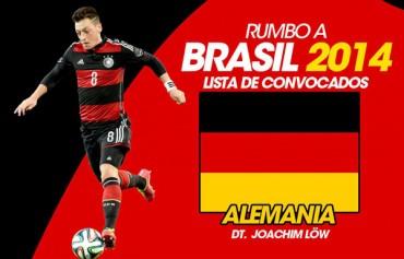 Alemania da su lista definitiva para Brasil 2014