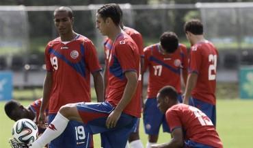 Costa Rica se alista para duelo con Uruguay