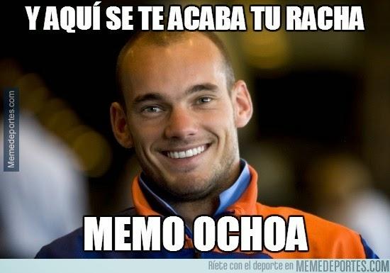 Los mejores memes y chistes del partido Holanda-México