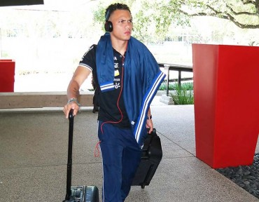 Arnold Peralta salió en plena madrugada del hotel