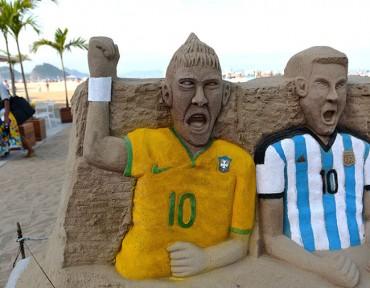 El mundial ya se respira en la tierra de la samba