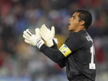 Noel Valladares a sumar más partidos como capitán