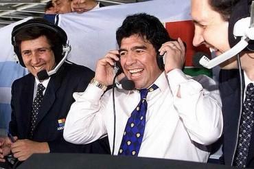 Diego Maradona mostró apoyo a Luis Suárez