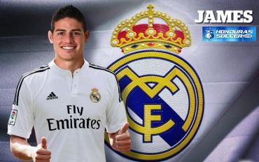 James Rodríguez ya es nuevo jugador del Real Madrid