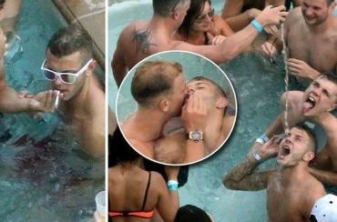 Wilshere, cazado bebiendo y fumando en Las Vegas