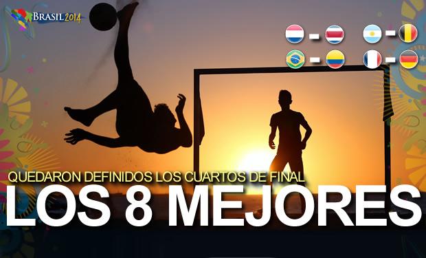 Listos los Cuartos de Final en Brasil