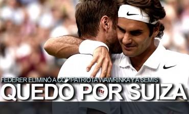 Roger Federer avanzó a Semifinales en Wimbledon