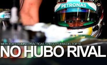Mercedes, sin rival en prácticas del GP de Gran Bretaña