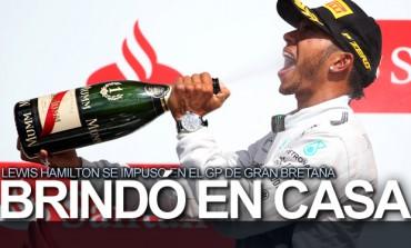 Hamilton arrasó en Silverstone, 'Checo' no sumó