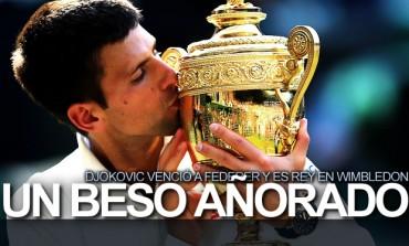 Djokovic ganó 2do cetro en Wimbledon, recuperó cima ATP