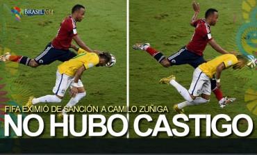 No castigará FIFA a Juan Camilo Zúñiga