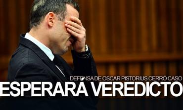 Defensa de Pistorius cerró caso, esperarán veredicto
