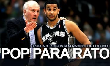 Popovich acordó renovación con los Spurs