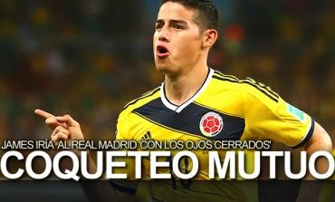 """James Rodríguez: """"Iría al Real Madrid con los ojos cerrados"""""""