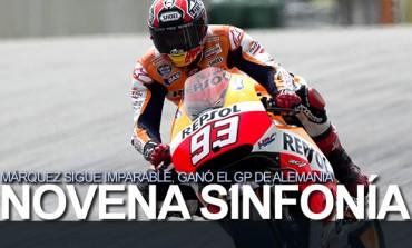 Márquez firmó su noveno triunfo en 2014 en Moto GP