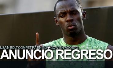 Usain Bolt anunció regreso a las pistas en agosto