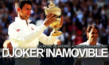 Djokovic, inamovible de la cima del ranking ATP