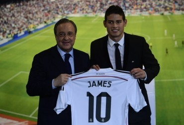 El día de James Rodriguez