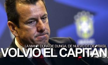 Dunga, de nuevo seleccionador de Brasil