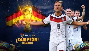 Alemania, tetracampeona por la gracia de Götze