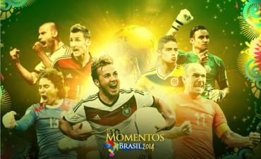 Los 5 mejores momentos de Brasil 2014