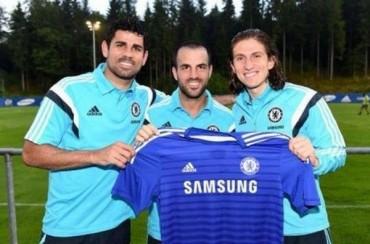 El Chelsea llega a Austria con Cesc, Filipe y Costa