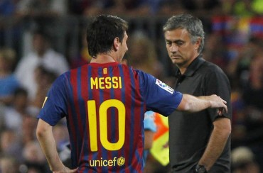 Mourinho defiende a Messi